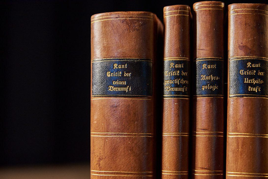 Immanuel Kant: Critik der reine Vernunft. Riga 1781.