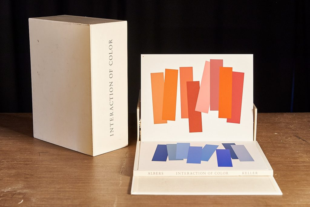 RBCL Buchdetails Albers, Interaction of color